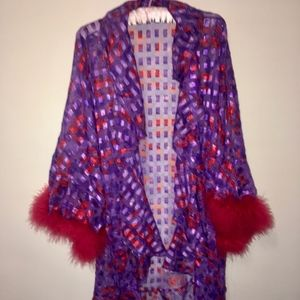 Tops - Red Hats Lady Robe (One-Size!)